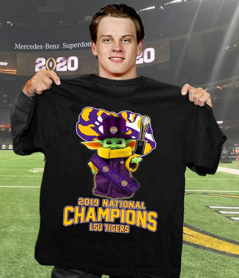 Baby Yoda 2019 national champions lsu tigers Shirt