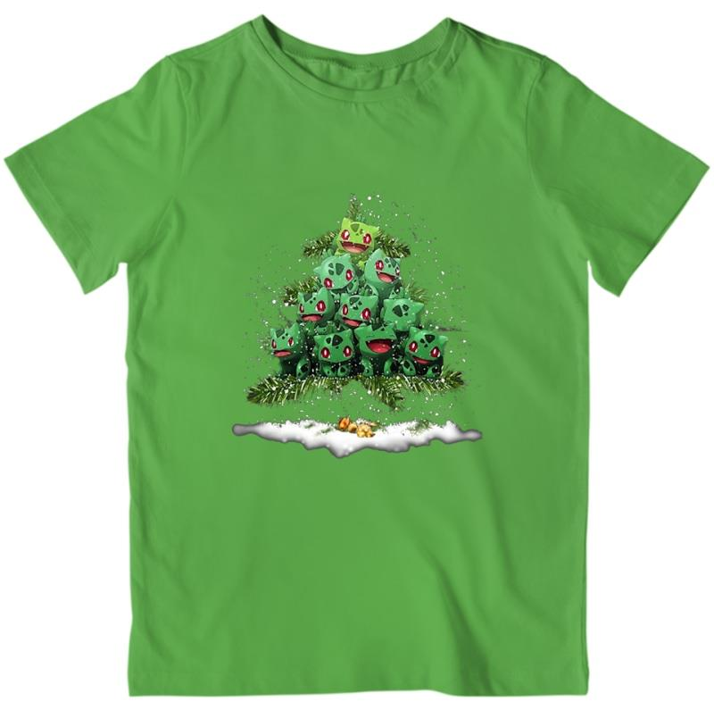 Bulbasaur Pokemon Christmas Tree Shirt