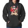 Christmas Santa Claus Riding Bulldog Shirt