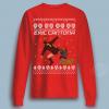 Eric Cantona Kung Fu ugly Christmas Shirt