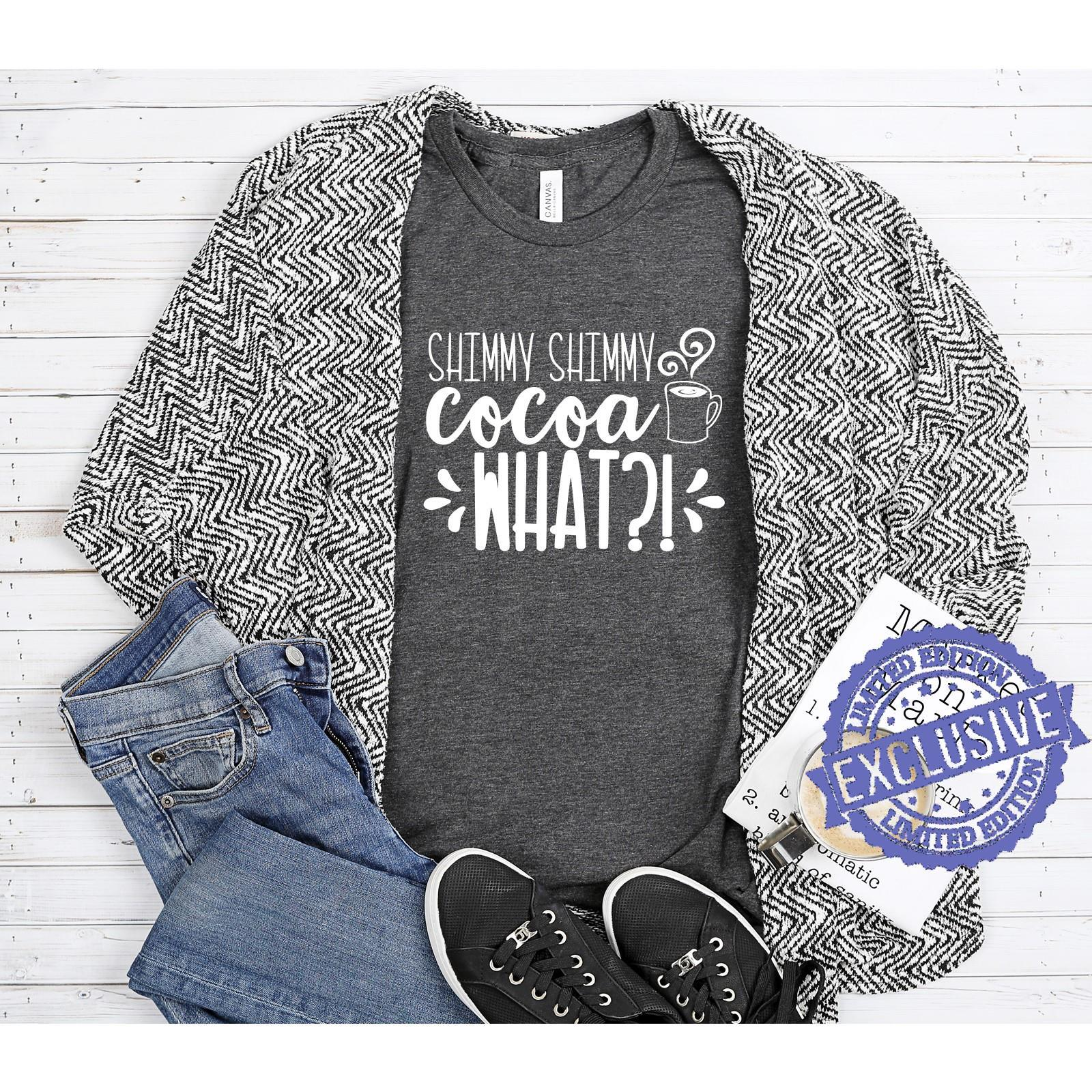 Shimmy shimmy cocoa what shirt