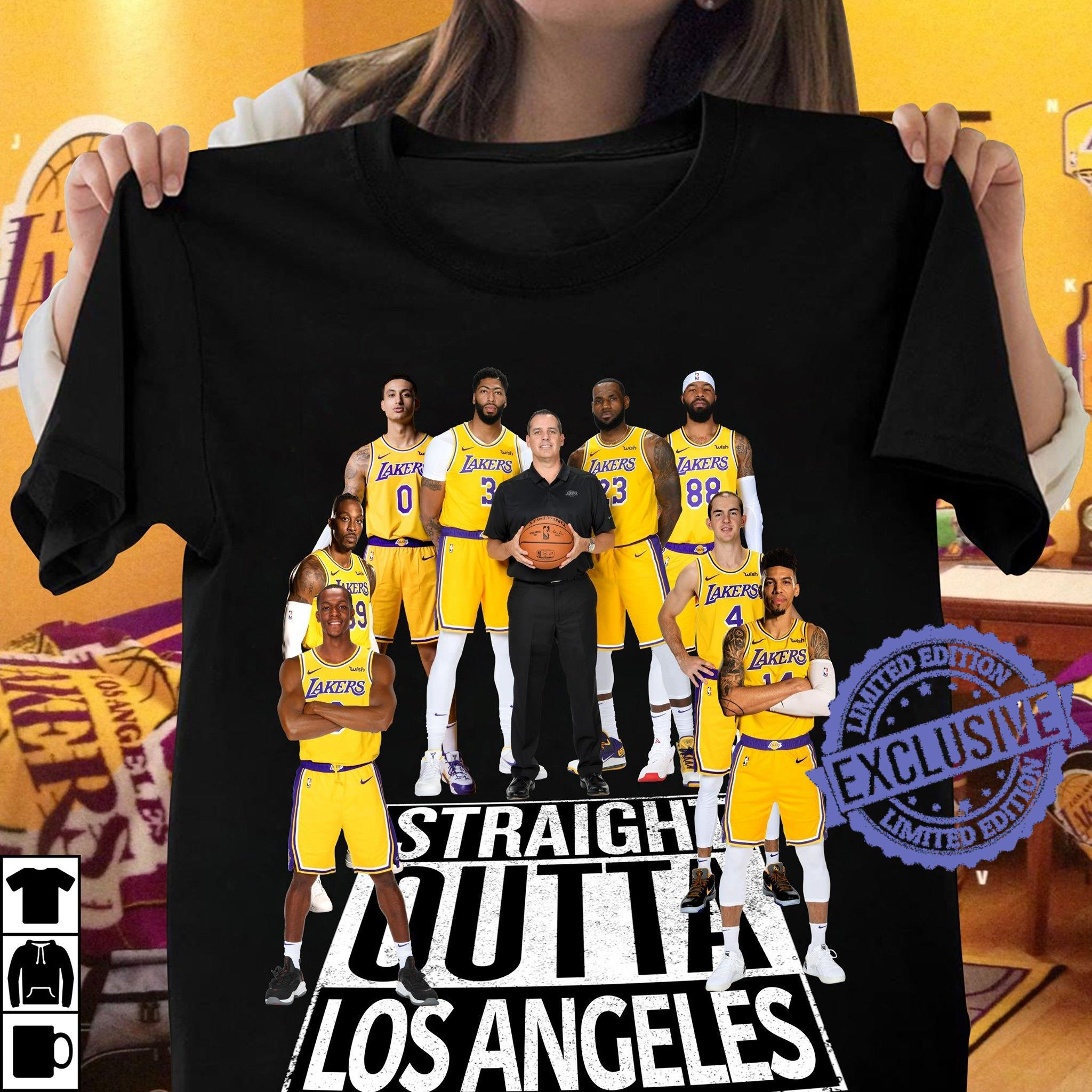 Straight outta los angeles shirt