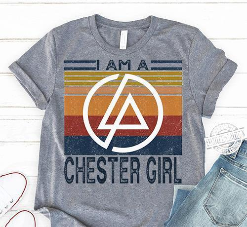 Vintage I am a chester girl shirt